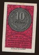 10 Fillér (Hadsegélyező Hivatal) -  avers