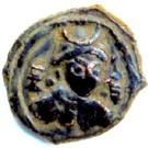 Drachm - Tarika satrap (Toramana domain, type 25-28) – avers