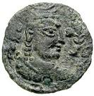 Drachm - Khingila (Lord of Zabul, 2nd ver.) (Hadda-Gandhara mint) – avers