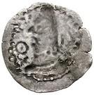Drachm - Deva Shahi Khingila (bilingual type, India territory mint) – revers
