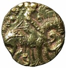 Dinar - Toramana (Lion-slayer type, unknown mint) – avers