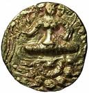 Dinar - Toramana (Lion-slayer type, unknown mint) – revers