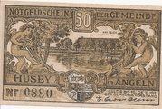 50 Pfennig (Husby) – avers