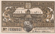 75 Pfennig (Husby) – avers