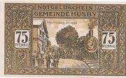 75 Pfennig (Husby) – revers