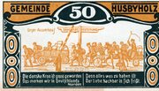50 Pfennig (Husbyholz) – revers