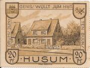 20 Pfennig (Husum) – revers