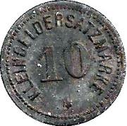 10 pfennig - Idstein – revers