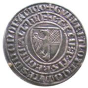 Grosso Tornese - Guelfo della Gheradesca and Lotto della Gheradesca – avers