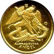 1/20 Angel Gold – revers