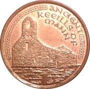 1 penny - Elizabeth II (4e effigie) -  revers