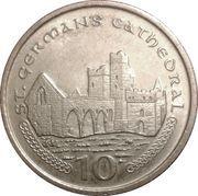 10 pence - Elizabeth II (4eme effigie) -  revers