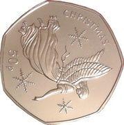 50 pence - Élizabeth II (4e effigie, Noël) -  revers