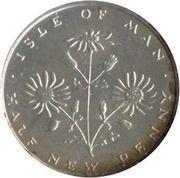 ½ New Penny - Elizabeth II (2nd portrait) – revers