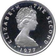 ½  Penny - Elizabeth II (2nd portrait; Atlantic Herring) – avers