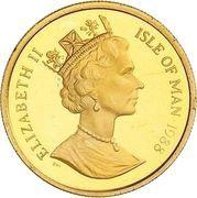 ¼ Angel - Elizabeth II (3rd portrait) – avers