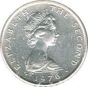½ Penny - Elizabeth II (2nd portrait) – avers