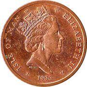2 pence - Elizabeth II (3eme effigie) -  avers