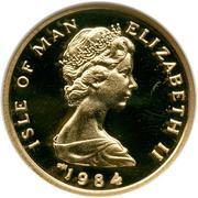 1/10 angel - Elizabeth II (2eme effigie) – avers