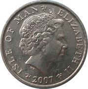 5 pence - Elizabeth II (4eme effigie) -  avers