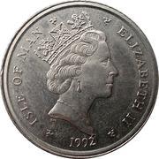 10 pence - Elizabeth II (3eme effigie) -  avers