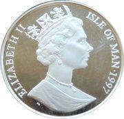 ½ Crown - Elizabeth II (Leiv Eiriksson)