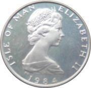 1/2 Penny - Elizabeth II (2ème portrait ; 500ème anniversaire du Collège des Hérauts) – avers