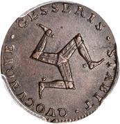 ½ penny - James Stanley (Essai) – revers