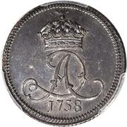 1 Penny - James Murray – avers