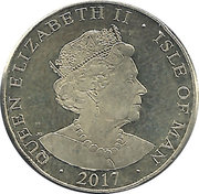 1 Pound - Elizabeth II -  avers