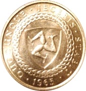 1/2 Sovereign - Bicentenary of Revestment Act (200TH ANNIVERSARY OF ACQUISITION) – revers