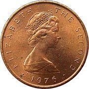½ penny - Elizabeth II (2eme effigie) – avers