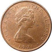 ½ new penny - Elizabeth II (2eme effigie) – avers