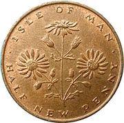 ½ new penny - Elizabeth II (2eme effigie) – revers