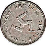 ½ Bank Penny - George III – avers
