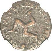 1 Penny - James Stanley comte de Derby – revers