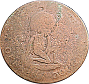 1/2 Penny - George III (Manks Token Coinage) – avers