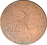 1/2 Penny - George III (Manks Token Coinage) – revers