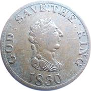 1 penny - Georges III (Essai) – avers
