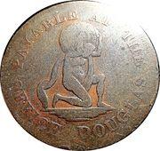 Penny - Payable at Douglas Office - Atlas & Globe – avers