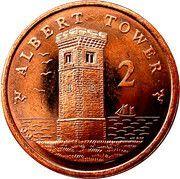 2 pence - Elizabeth II (4eme effigie) -  revers