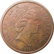 2 pence - Elizabeth II (3eme effigie)