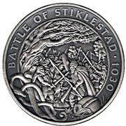 Crown - Elizabeth II (Battle of Stiklestad) -  avers
