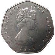 50 pence - Elizabeth II (2eme effigie) -  avers