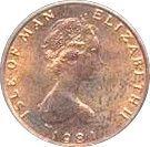½ penny - Elizabeth II (2eme effigie; FAO) – avers