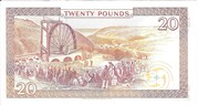 Isle of Man Governmen £20 Series 43 and 45 – revers
