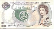 Isle of Man Government £10 Series 42 – avers