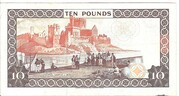 Isle of Man Government £10 Series 42 – revers