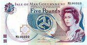 5 Pounds - Elizabeth II – avers