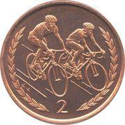 2 pence - Elizabeth II (3eme effigie) -  revers